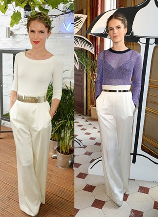 How to Wear White Wide Leg Pants (1)