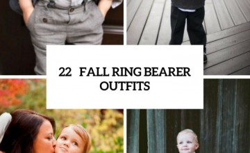 Comfy Fall Ring Bearer Outfits