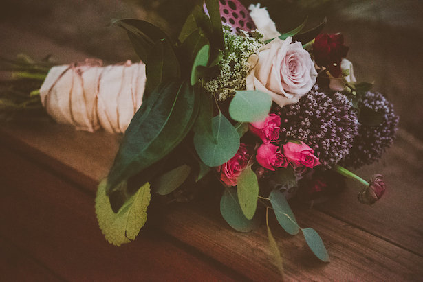 Rustic Wedding Bouquet - Cristina Navarro Photography