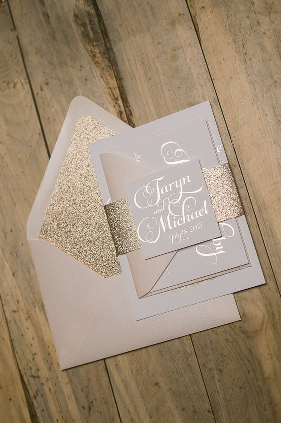 blush and gold stationery