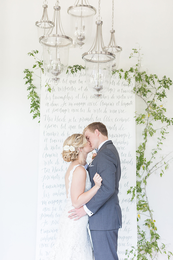 wedding ceremony ideas - photo by Ryan & Alyssa Photography http://ruffledblog.com/french-couture-wedding-inspiration