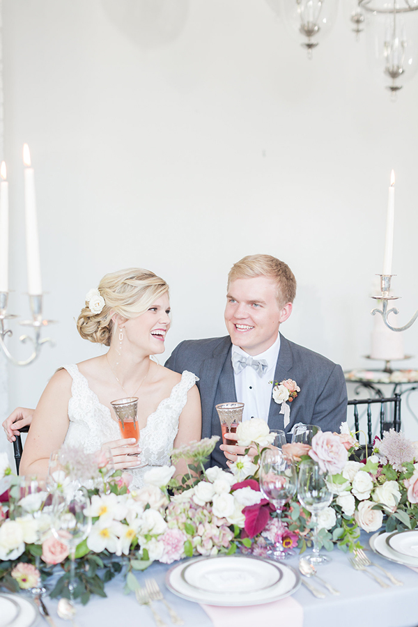 French wedding inspiration - photo by Ryan & Alyssa Photography http://ruffledblog.com/french-couture-wedding-inspiration