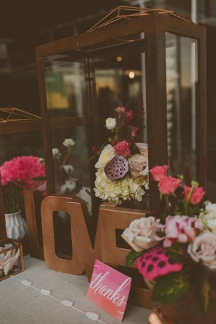Copper Wedding Decor - Cristina Navarro Photography