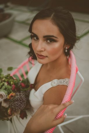Wedding Makeup - Cristina Navarro Photography