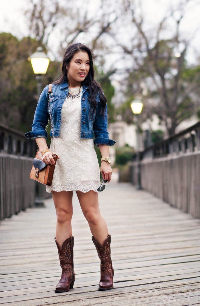 Ideas to wear Cowboy Boots (13)