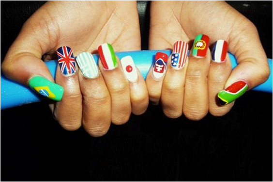 best funky nail art designs for girls (31)