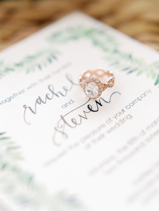 Unique engagement ring | Angelica Chang Photography