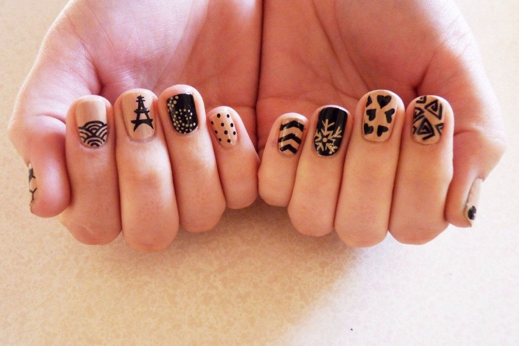 best funky nail art designs for girls (44)
