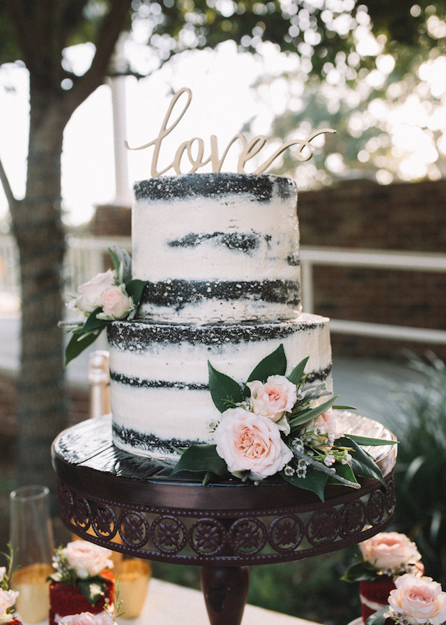 Chocolate wedding cake | Palafox Street Weddings