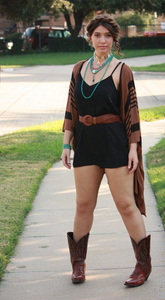 Ideas to wear Cowboy Boots (4)