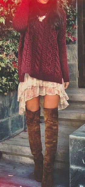 best outfits for girls with boots (17)