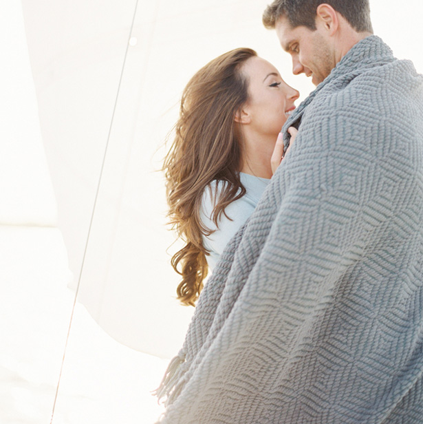 Romantic engagement photo - Melanie Gabrielle Photography
