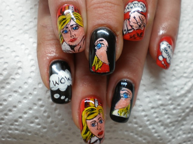 best funky nail art designs for girls (24)