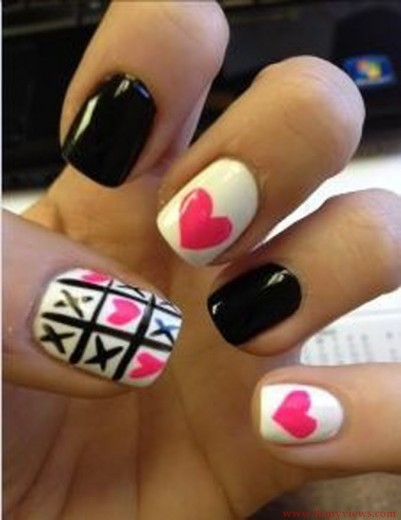 best funky nail art designs for girls (17)