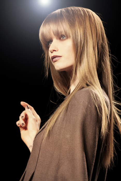 #2 - Long Hairstyle with Fringes