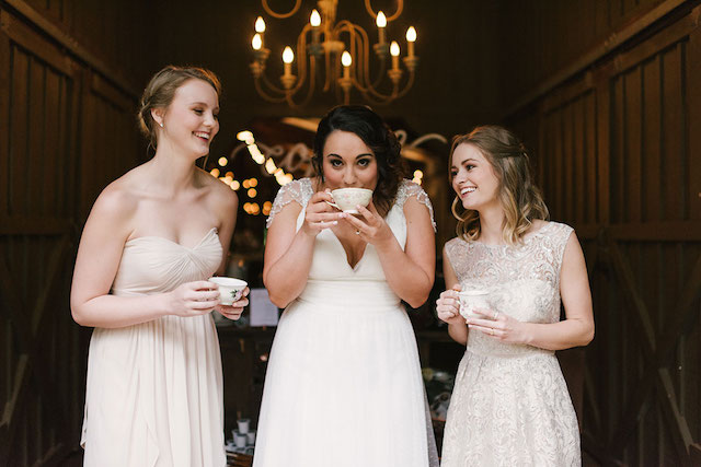 Coffee wedding ideas | Lauren Rae Photography