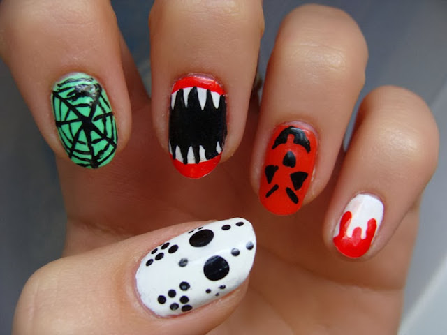 best funky nail art designs for girls (35)
