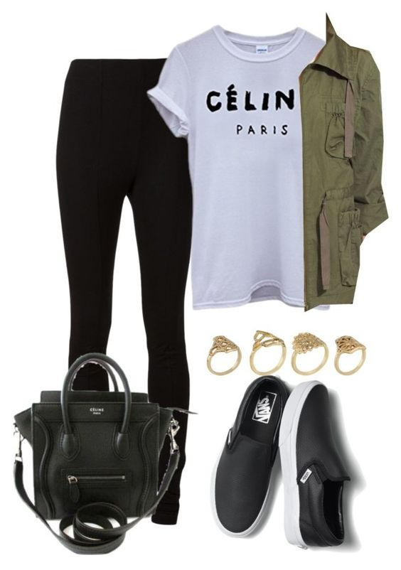 Cute Outfit Ideas To Wear With Slip-On Sneakers (10)