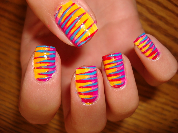 best funky nail art designs for girls (8)