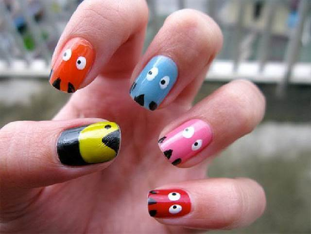 best funky nail art designs for girls (36)