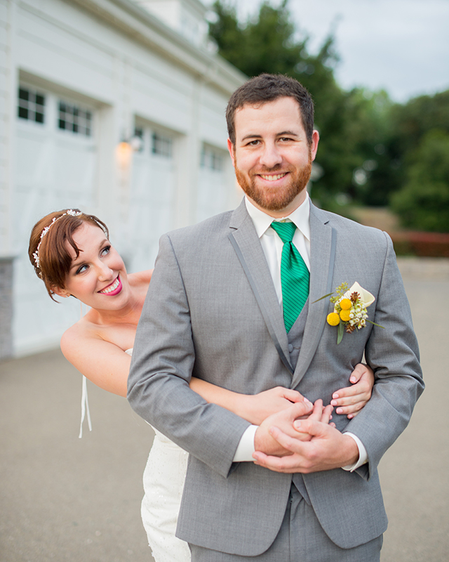 Fun and colorful origami wedding | Kelly Marie Photography
