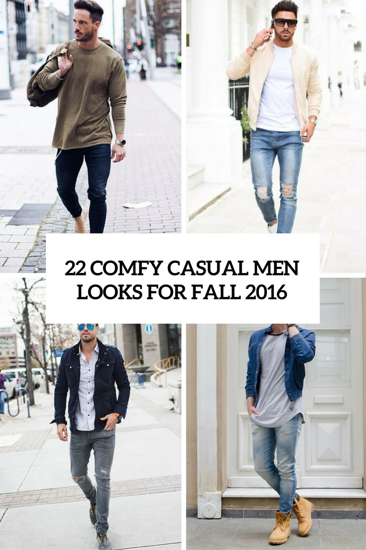 comfy casual men looks for fall 2016 cover