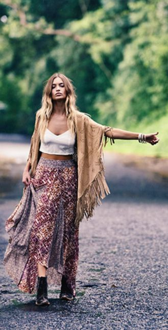 Gypsy Skirts Outfits (17)