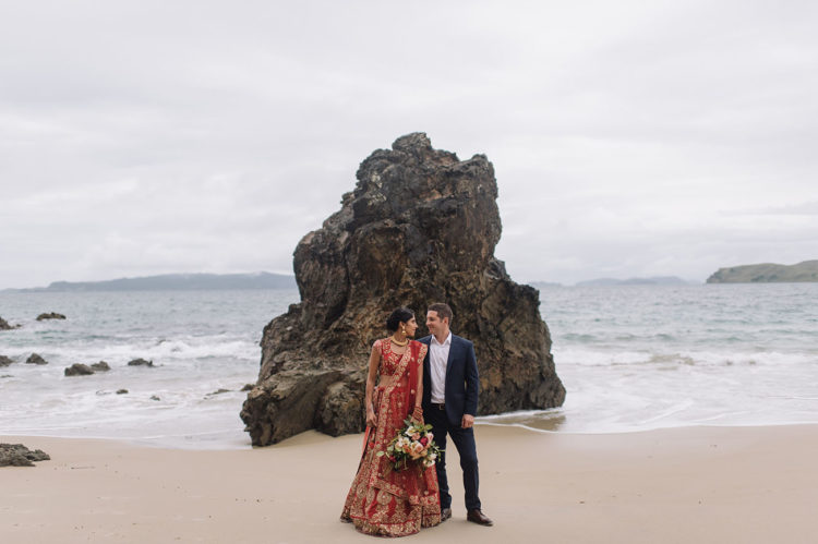 Gorgeous Indian Fusion New Zealand Wedding