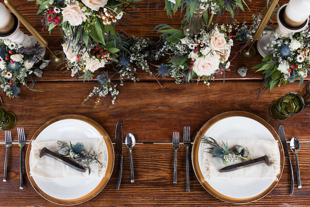 Vintage rustic tablescape | Lumiére Visual Arts
