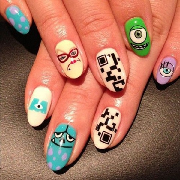 best funky nail art designs for girls (28)
