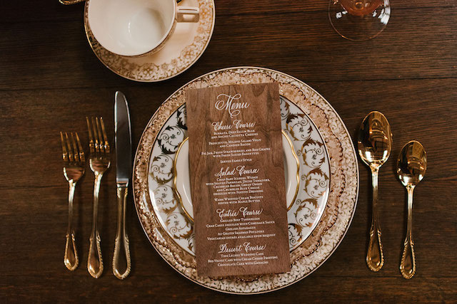 Vintage china | Lauren Rae Photography