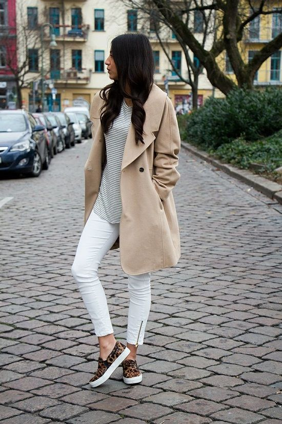 Cute Outfit Ideas To Wear With Slip-On Sneakers (24)
