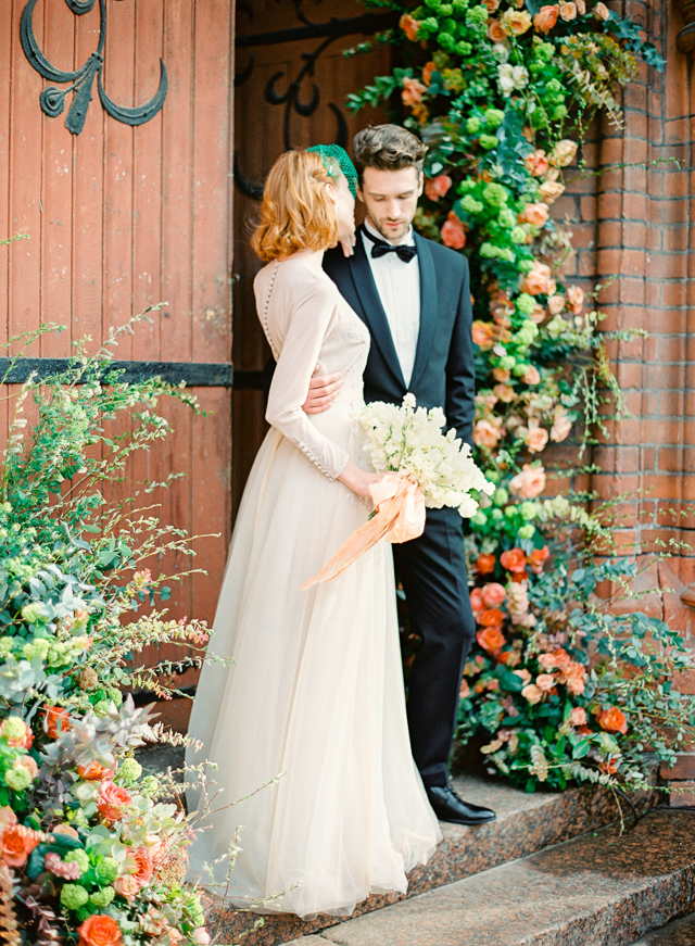 Peach and green wedding ideas | Kir & Ira Photography