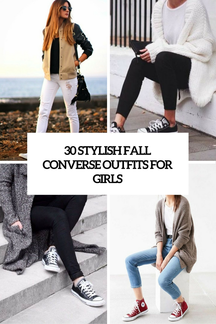 stylish fall converse outfits for girls cover