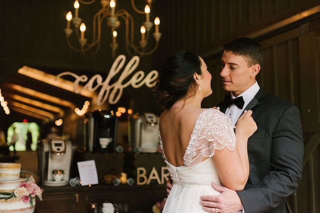 Coffee-inspired wedding | Lauren Rae Photography
