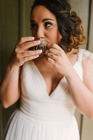 Coffee themed wedding | Lauren Rae Photography