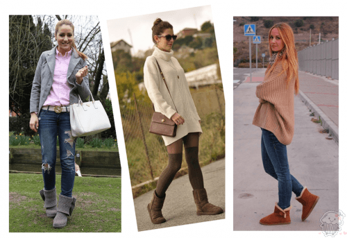 How to wear Shearling Boots - Ideas to wear Dresses with boots (15)