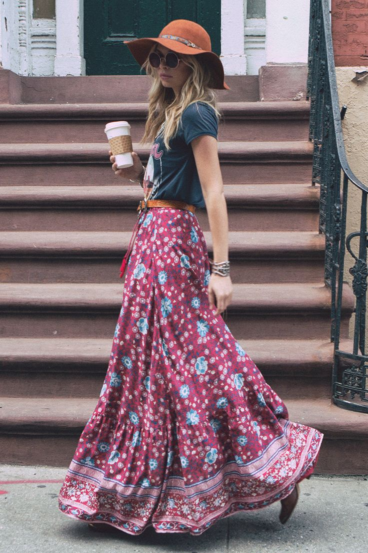 Gypsy Skirts Outfits (14)
