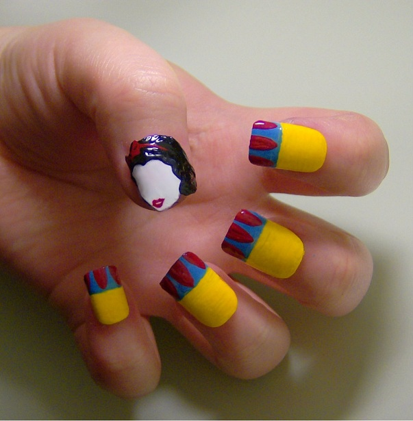 best funky nail art designs for girls (19)