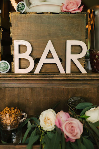 Self serve coffee bar | Lauren Rae Photography