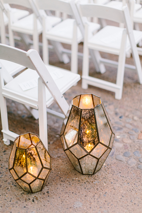 lanterns at weddings - photo by Redfield Photography http://ruffledblog.com/romantic-philadelphia-horticulture-center-wedding