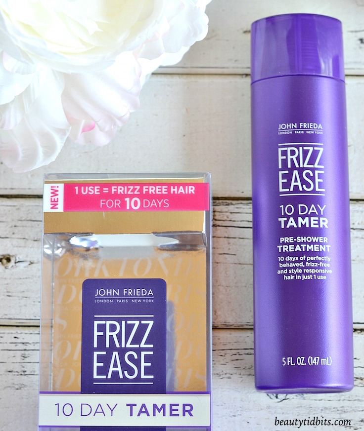 10 days of smooth, perfectly behaved frizz-free hair from just one treatment? Yes, please! Does John Frieda Frizz Ease 10-Day Tamer Pre-Shower Treatment really deliver on its promise? Click through to find out now!