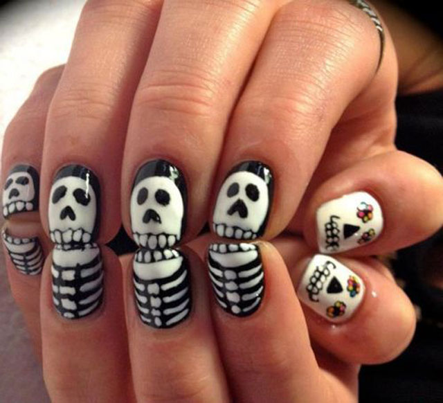 best funky nail art designs for girls (39)