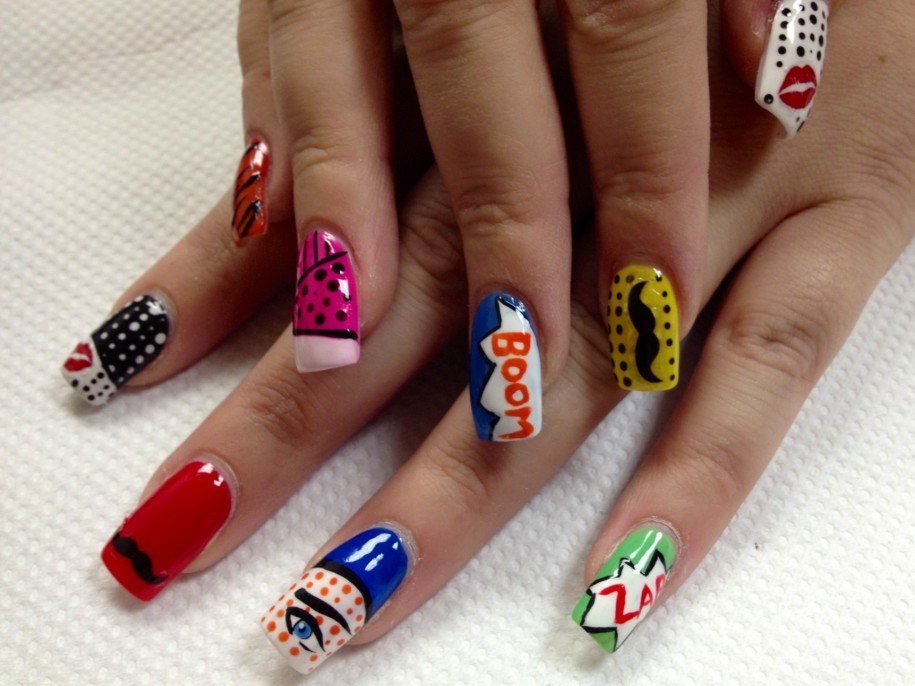 best funky nail art designs for girls (38)