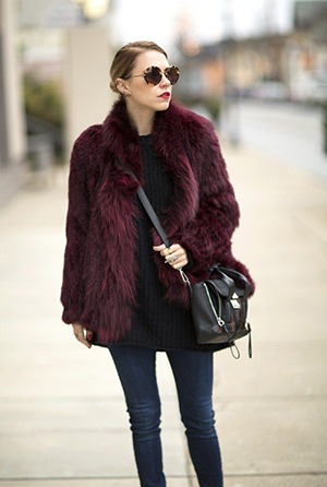 How to Wear Outfits with Faux Fur Coats (3)