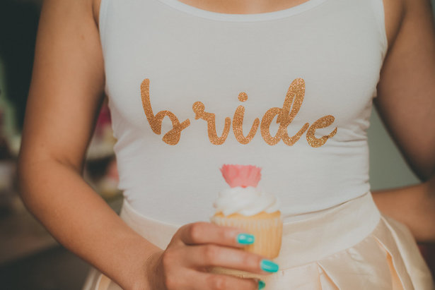 Bride t-shirt- Cristina Navarro Photography