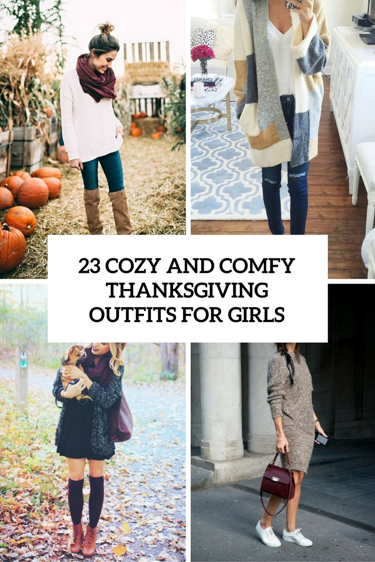 cozy and comfy thanksgiving outfits for girls cover