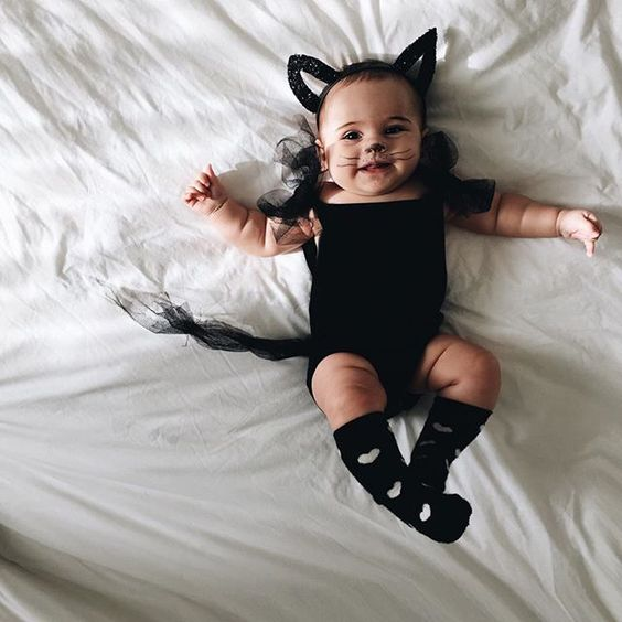 little black cat costume for the wee ones