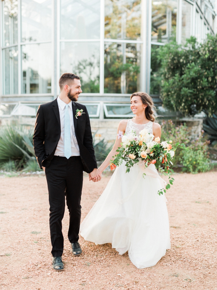 Watercolor Greenhouse Wedding Inspiration - http://ruffledblog.com/watercolor-greenhouse-wedding-inspiration