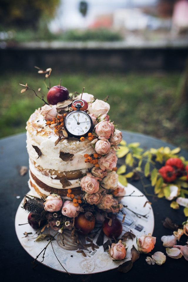 Steampunk wedding cake | Non Solo Spose